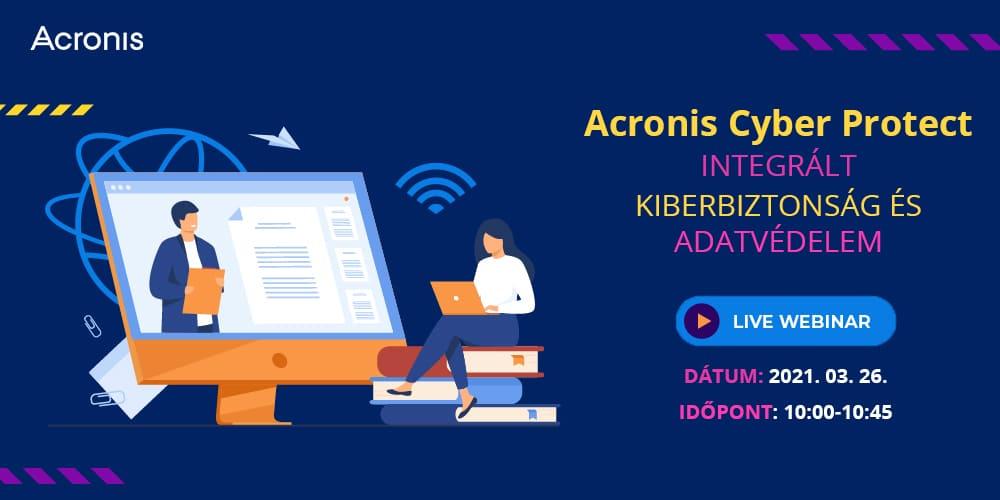 Acronis Cyber Protect - Webinár